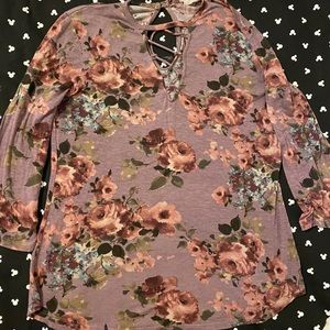 🎄5-$8 10-$12🎄 Cute Maurices top!